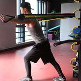 健身肌肉家用繩戰繩男彈力力量訓練套裝繩煉臂肌胸肌肌肉器材拉力 限時兩天滿千88折爆賣