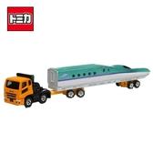 【日本正版】TOMICA NO.122 三菱 新幹線 運輸車 玩具車 長盒 多美小汽車 - 880431