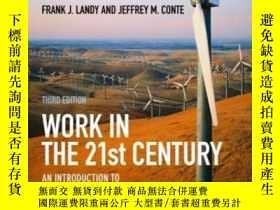 二手書博民逛書店Work罕見In The 21st CenturyY256260 Frank J. Landy Wiley-b