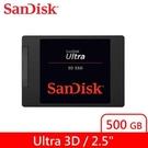 Sandisk ULTRA 3D SSD 500GB固態硬碟