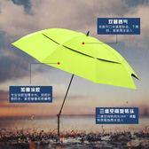 2.0米萬向釣魚傘防雨超輕碳素遮陽防曬太陽折疊漁具釣傘igo   凱斯盾數位3C
