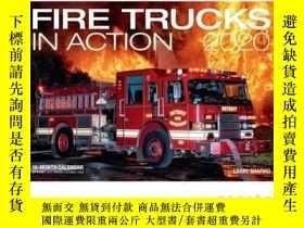 二手書博民逛書店Fire罕見Trucks in Action 2020: 16-