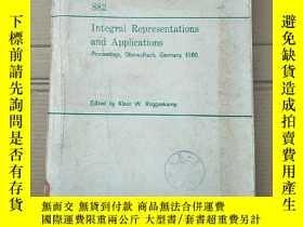 二手書博民逛書店integral罕見representations and applications(P2154)Y17341