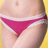 華歌爾-魔法點點甜心系列M-LL低腰三角褲(幸運紅)QS3309LA(未購滿1000恕無法出貨)