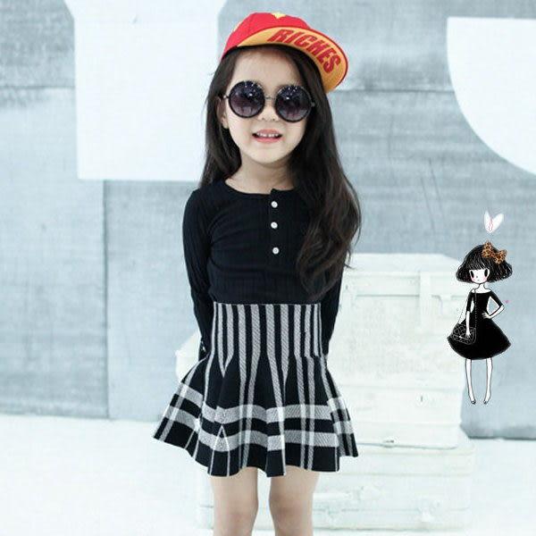 *╮小衣衫S13╭*兩穿式優質針織格披風高腰小圓裙1030938