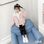 童裝女童棉衣 2019新款冬裝兒童棉襖洋氣加厚外套小女孩短款棉服潮 YN2239『易購3c館』