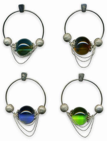 鹿港窯~開運古法水晶琉璃銀飾項鍊~圓融 ◆附精美包裝◆免運費送到家