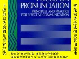 二手書博民逛書店Focus罕見On Pronunciation: Principles And Practice For Effe
