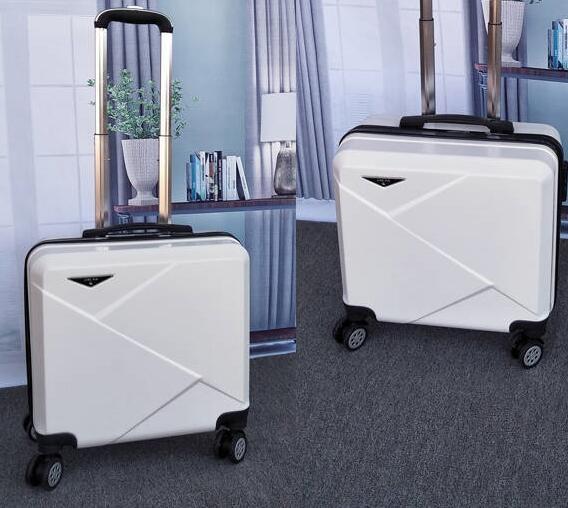 拉桿箱 登機行李箱18寸20寸輕便迷你小型拉桿密碼箱男女小號旅行箱子