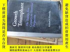 二手書博民逛書店c0009growth罕見triumphant(the twen