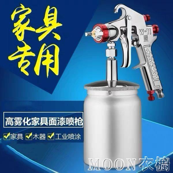 臺灣博士 W-71/W-77上下壺油漆噴槍高霧化家具木器汽車油漆噴漆槍 快速出貨