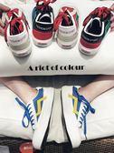 學生百搭潮流低筒鞋韓版復古板鞋夏季時尚男士帆布鞋 晴天時尚館