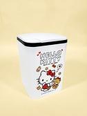 【震撼精品百貨】凱蒂貓_Hello Kitty~台灣授權 SANRIO三麗鷗 KITTY按壓式垃圾桶-白#19244