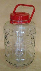 **好幫手生活雜鋪** 特級桃太郎玻璃瓶附提把 40罐 ---收納罐.收納桶.零食罐.塑膠筒.塑膠桶