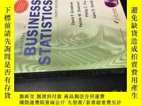 二手書博民逛書店A罕見COURSE IN BUSINESS STATISTICS