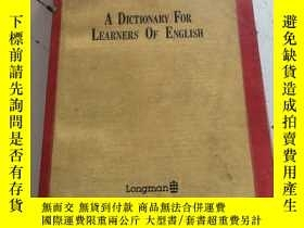 二手書博民逛書店Longman罕見dictionary of american