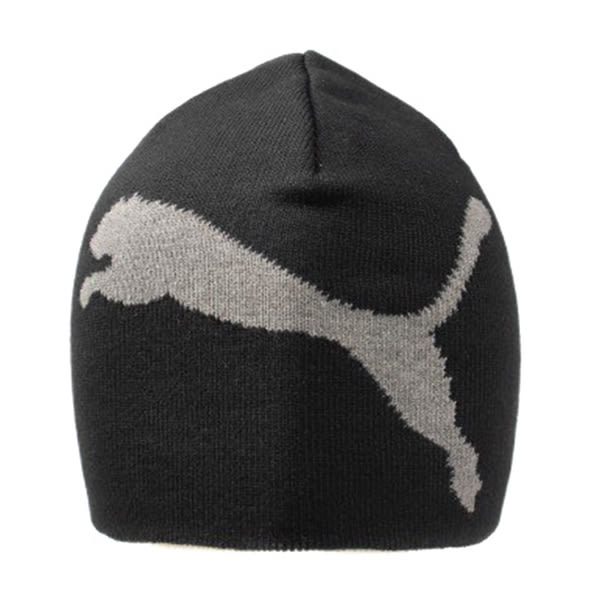 Puma ESS Big Cat Beanie [05292505] 男女 簡約 保暖 柔軟 舒適 針織 毛帽