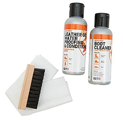 GEAR AID REVIVEX BOOT CARE KIT LEATHER 鞋類皮革保養組