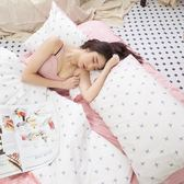 【預購】春日早晨 K1 KingSize床包三件組 100%復古純棉 極日風 台灣製造 棉床本舖