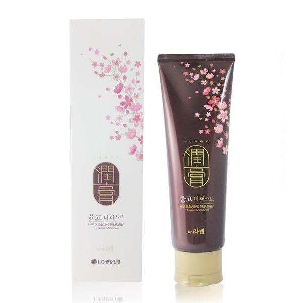 韓國LG ReEn 頂級潤膏 經典雙效護髮洗髮乳(白色) 250ml【UR8D】