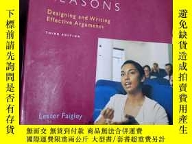 二手書博民逛書店Good罕見Reasons: Designing and Wri