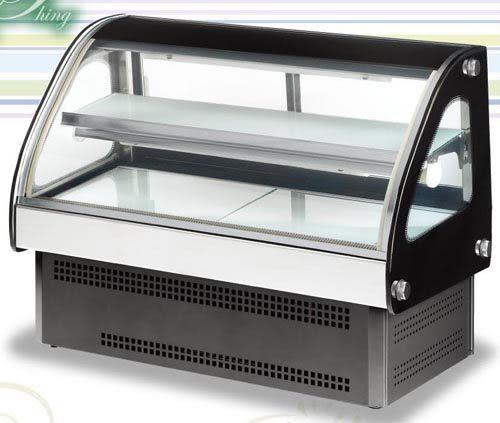 圓弧桌上型 西點蛋糕冷藏櫃【3尺 冰櫃】型號:C-9002