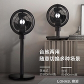 空氣循環扇靜音遙控電風扇家用落地扇立式搖頭電扇大風力小 樂活生活館