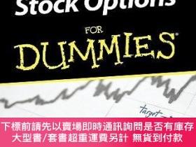 二手書博民逛書店預訂Stock罕見Options For DummiesY492923 Alan Simon John Wil