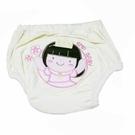 GMP BABY 舒適可愛公主超吸排純棉寶寶學習褲~黃