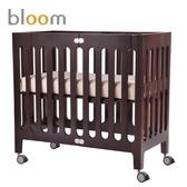 美國 Bloom alma mini 都會可折疊嬰兒床(小床)~卡布奇諾(附床墊床單)