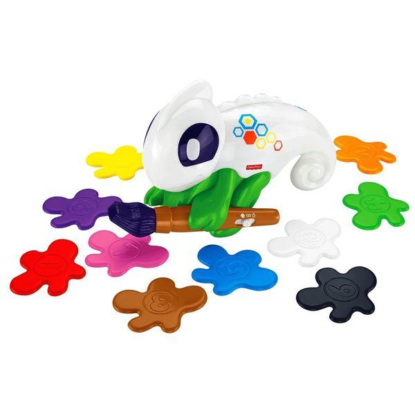 特價 Fisher-Price費雪嬰幼兒玩具 顏色辨識科技變色龍 TOYeGO 玩具e哥
