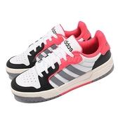 adidas 休閒鞋 Entrap 白 灰 紅 男鞋 反光 愛迪達 運動鞋 基本款 【ACS】 EH1466