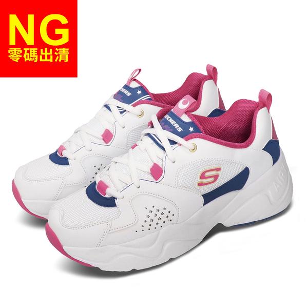 【US9-NG出清】Skechers 休閒鞋 D Lites AIRY 2.0 X Sailor Moon 白粉紅 女鞋 美少女戰士 全新無原盒【ACS】