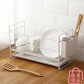 廚房置物架放碗盤子架碗碟收納瀝碗筷收納盒碗架【匯美優品】