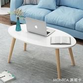 茶几 北歐茶幾簡約現代小戶型客廳沙發邊桌家用臥室小圓桌移動 莫妮卡小屋YXS