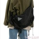 新品側背包韓2020新款ins潮牌港風文藝街頭原宿潮牌斜背包男女機能包側背包