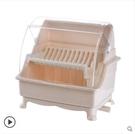 廚房碗筷收納盒放碗瀝水帶蓋迷你碗櫃架餐具家用多功能碗碟置物架小確幸生活館 交換禮物 送禮