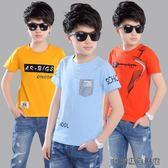 男童T恤短袖中大童童裝半袖體恤