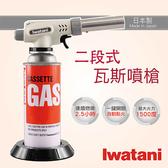 日本Iwatani岩谷超級二段式瓦斯噴槍-日本製造