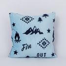探險森林暖手抱枕-藍-生活工場