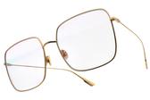Dior 太陽眼鏡 STELLAIRE1 000TE (金-淺紫水銀透明鏡片) 歐美輕時尚潮流款 #金橘眼鏡