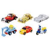 TOMICA 迪士尼小汽車10週年抽抽樂系列 (六入中盒)