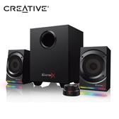 CREATIVE 創巨 Sound BlasterX Kratos S5 2.1聲道 RGB 電競 喇叭