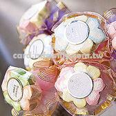 婚禮小物 100枝幸運草.棉花糖花棒 - 二次進場/創意送客糖果/婚禮用品/宴客 幸福朵朵
