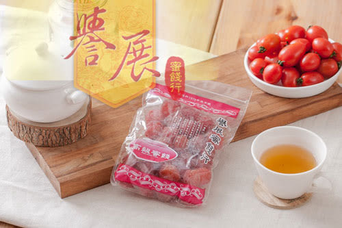 【譽展蜜餞】玫瑰李 300g/100元