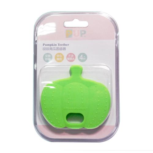 奇哥 PUP Pumpkin Teether 咬咬南瓜固齒器(綠色)[衛立兒生活館]