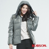 BOBSON 基本型羽毛外套(灰色69109-49)