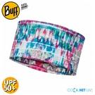 【BUFF 西班牙 COOLNET抗UV頭帶《嬉皮渲染》】122627/涼感/圍脖/帽子/口罩/圍巾