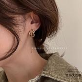 耳環復古氣質耳釘簡約冷淡風耳環女高級感耳飾品【時尚大衣櫥】