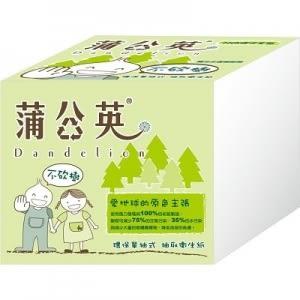 蒲公英單抽式衛生紙
